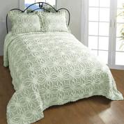 Rosa Bedspread Twin - Sage