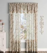 Ella Tailored Valance - Natural