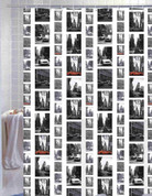 New York City - Vinyl Shower Curtain