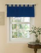 American Denim - Tab Top Valance