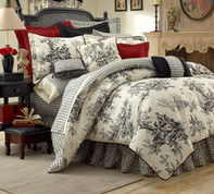 Bouvier - 4 pc QUEEN Comforter Set by Thomasville