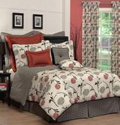 Cortina - 4 pc QUEEN Comforter Set