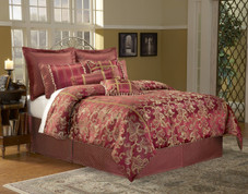 Crawford - 11 pc Queen Super Pack Bedding Set