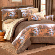 Duck Approach - 4pc Queen Comforter Set