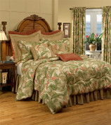 La Selva - Natural - 4 pc QUEEN Comforter Set by Thomasville