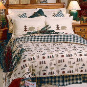 Northern Exposure - 4pc King Comforter Set
