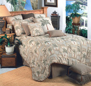 Palm Grove 4pc Queen Comforter Set
