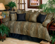Leopard - Bolster Pillow