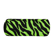 Lime Zebra Bolster Pillow