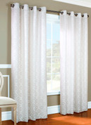 Anna Grommet Top Curtain pair - WHITE