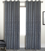 Brighton Foamback Grommet Top Curtain Panel - PLATINUM