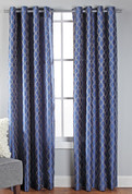 Broadway Grommet Top Curtain Panel - Cobalt