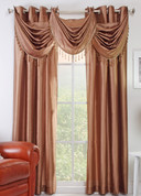 Chelsea Grommet Top Curtain Panel - Bronze