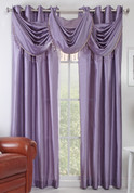 Chelsea Grommet Top Curtain Panel - Lavender