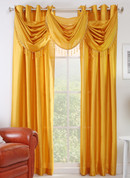 Chelsea Grommet Top Curtain Panel - Mango