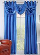 Chelsea Grommet Top Curtain Panel - Sapphire