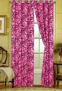 Christina Grommet Top Curtain - Pink