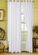 Elaine Grommet Top Curtain - White