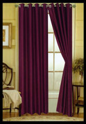 Elaine Grommet Top Curtain - Purple