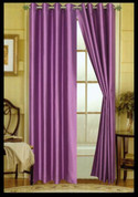 Elaine Grommet Top Curtain - Lilac