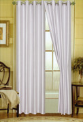 Elaine Grommet Top Curtain - Silver