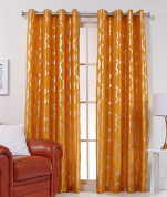 Lafayette Grommet Top Curtain Panel  - Mango