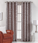 Lafayette Grommet Top Curtain Panel  - Silver