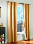 Prelude Grommet Top Curtain Panel  - MUSHROOM