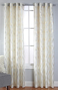 Stanton Grommet Top Curtain Panel  - Ivory
