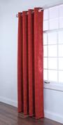 Sutton Grommet Top Curtain Panel - CRIMSON