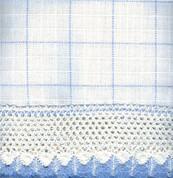 Adirondack - White/Blue - Insert Valance