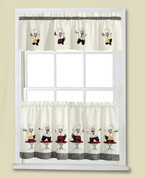 Cheers Chef Kitchen Curtain