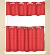 Jackson Grommet Valance - Red