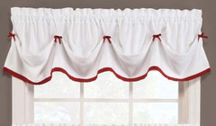 Kate Tuck Valance - Berry