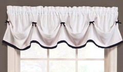 Kate Tuck Valance - Black