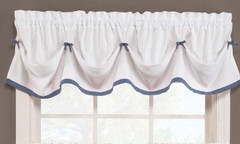 Kate Tuck Valance - Blue