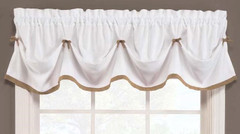 Kate Tuck Valance - Taupe