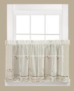 live laugh love kitchen curtain valance - linens4less