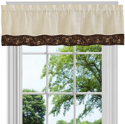 Oakwood Valance - Brown