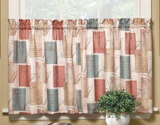 Tranquility kitchen curtain from Saturday Knight