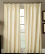 Crosby Thermal Pinch Pleated Drapes - Available in - Natural, Linen, Sage, Slate, Bordeaux
