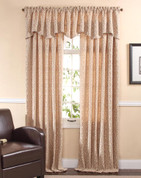 Bryce Rod Pocket Curtain Panel - Sand