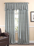 Bryce Rod Pocket Curtain Panel - Seabreeze