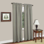Buffalo Check Rod Pocket Curtain Panel - Sage