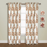 Chelsea Rod Pocket Curtain Panel - COPPER