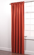 Colorado Foam Back Rod Pocket Curtain Panel - RUST