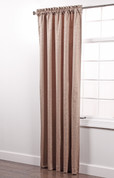 Colorado Foam Back Rod Pocket Curtain Panel - TAN