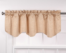 Colorado Foam Back Valance - WHEAT