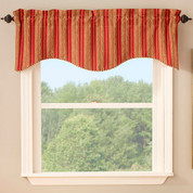 Cooper Scalloped Valance - Available in 3 colors