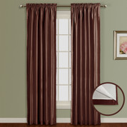 Lincoln Room Darkening Rod Pocket Panel - CHOCOLATE